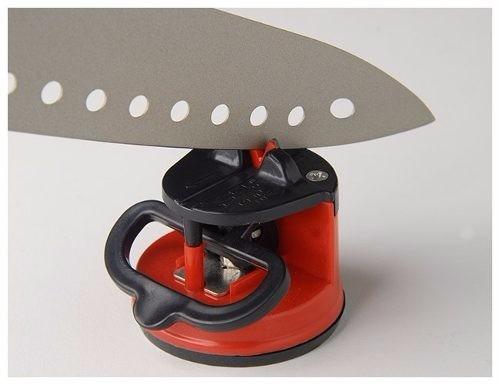 afiador amolador facas canivete facão com ventosa prático