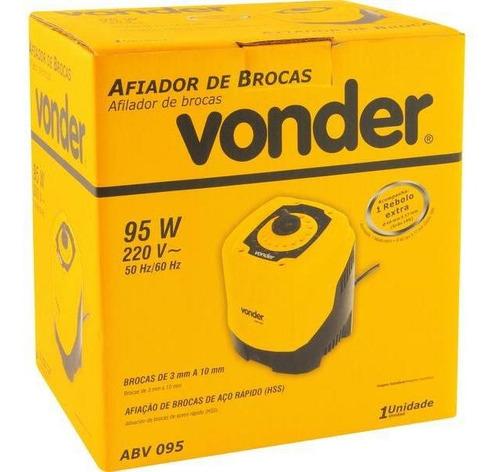 afiador de brocas 95w abv095 220v  - vonder
