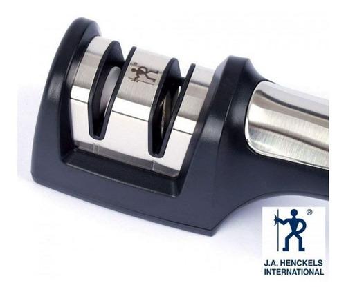 afiador de faca profissional diamantado 2 estágios zwilling