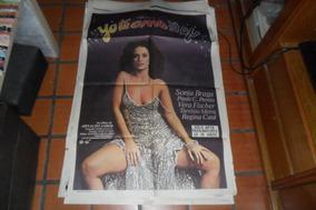 Afiche Cartel Cine Yo Te Amo Sonia Braga Arnaldo Jabor Case