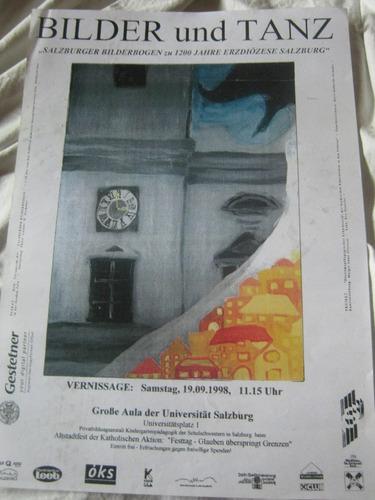 afiche de exposicion austria