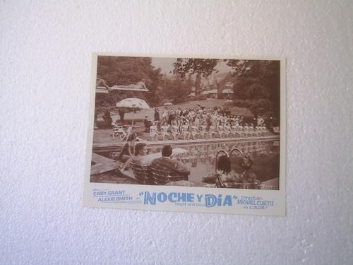 afiche de la película noche y día cary grant m. curtiz 1946.