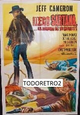 afiche llego sartana la sombra detu muerte jeff cameron 1969