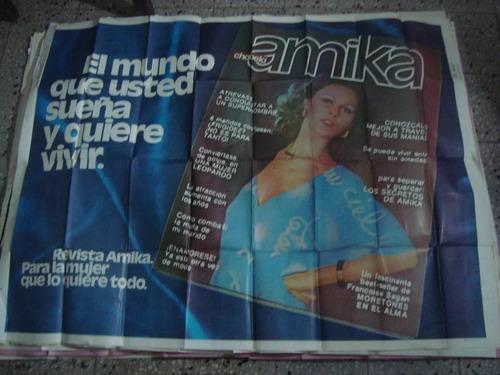 afiche orig d calle amika para la mujer 145x110
