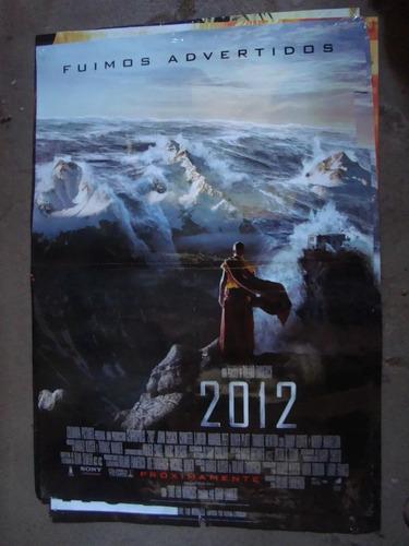 afiche orig de cine 2012 fuimos advertidos 1x72