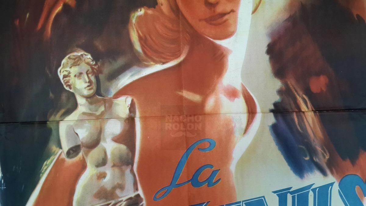 Afiche Poster Cine La Venus Desnuda Patricia Conelle 29900