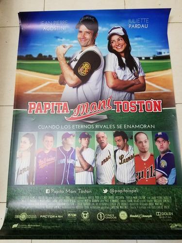 afiche poster de cine papita maní tostón 1 m x 70 cm nuevo