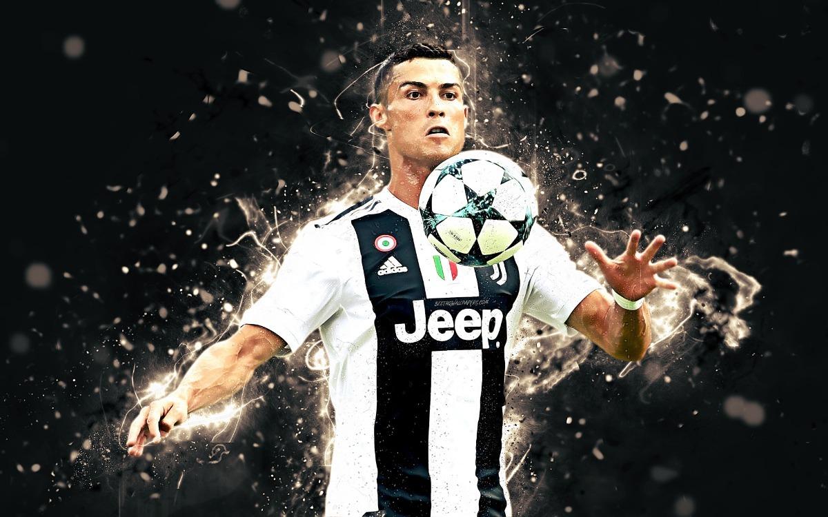 Afiche, Póster O Adhesivo Cristiano Ronaldo Juventus 2019 ...