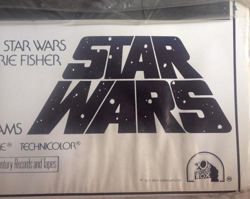 afiche star wars vintage medidas 92x61cm