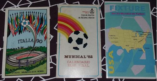 afiche zona argentina en  mundial españa 1982 + fixtures