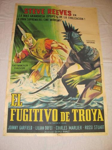 afiches de cine antiguos  con  steve reeves