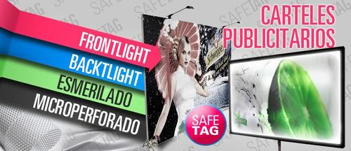 afiches láminas posters fotos gigantografias covers planos lonas vinilos backlight microperforados esmerilados blackout