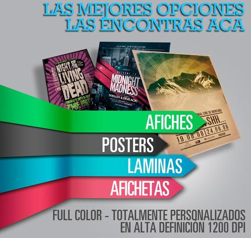 afiches láminas posters imagenes avisos propagandas catalogos revistas carpetas sobres entradas mapas libros planos