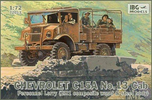 aficiones,modelos ibg 172 chevrolet c15a cab 13 personal..