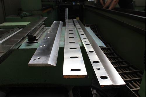 afilación y fabricación de cuchillas para guillotina