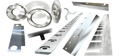 afilado cuchillas industriales circulares dentadas corta con