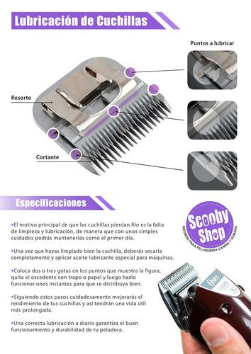 afilado de cuchillas de peluqueria