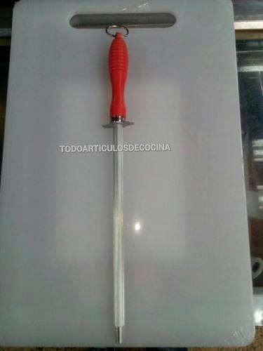 afilador chaira amolador de cuchillos 20cm