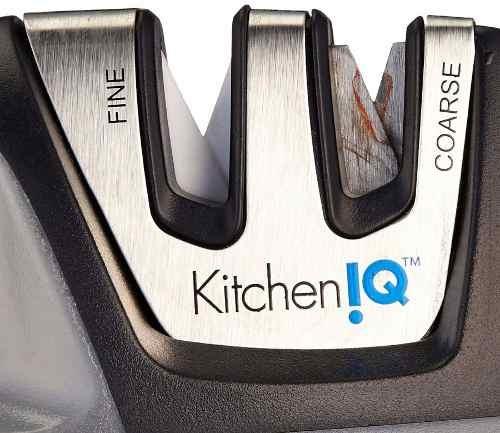 afilador cuchillos profesional navaja boker cheff kitchen iq