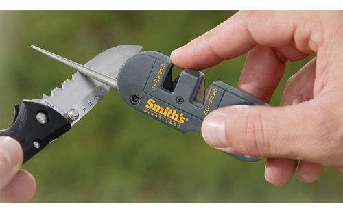 afilador cuchillos smiths pp1 de bolsillo unico usa original