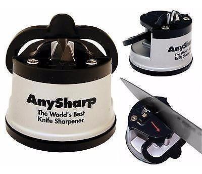 afilador de cuchillos anysharp pro original dentados lisos