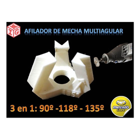 Afilador De Mechas Multiangular
