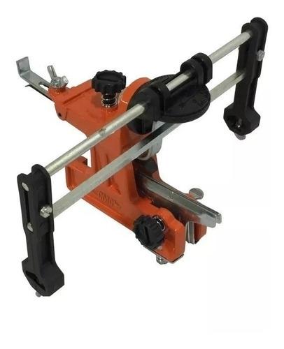 afilador manual cadenas motosierra cmc con 2 limas - davio