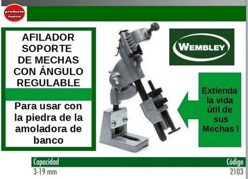 afilador soporte de mechas 3 a 19mm ang. reg para amoladora