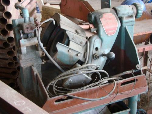 afiladora de barreminas grindex suecia, motor trifásico