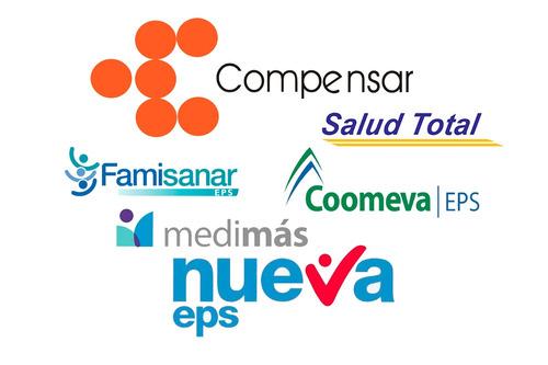 afiliacion a eps, arl, pensión y caja de compensación.