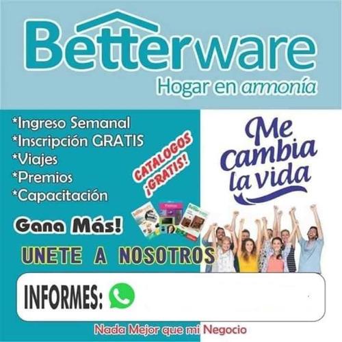 afiliación betterware