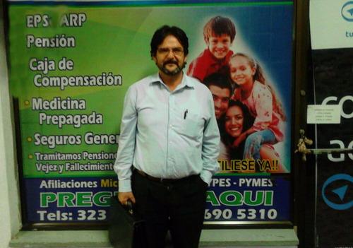 afiliaciones a eps, arl, taxistas y independientes - servici