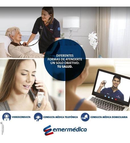afiliaciones emermedica plan integral, familiar, empresarial