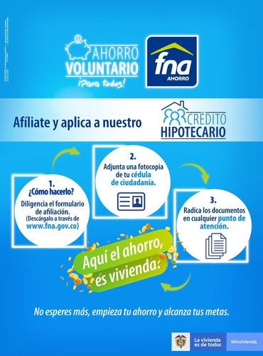 afiliate al fondo nacional del ahorro y cumple tus sueños!