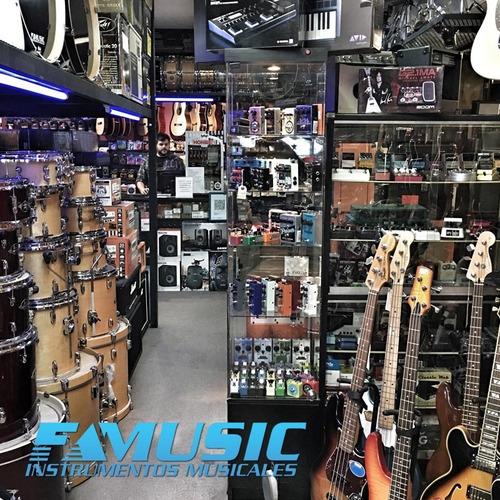 afinador clip cort e310c cromatico guitarra bajo violin uke