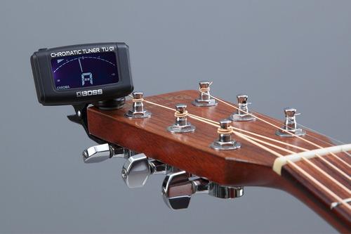 afinador clip cromatico boss violao guitarra tu01