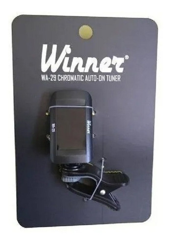 afinador clip winner wa-29 cromatico auto liga/desliga   nfe