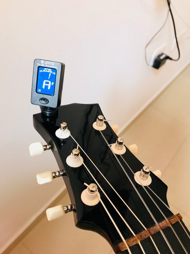 afinador cromático digital guitarra- bajo-ukulele-violin