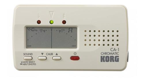 afinador cromático korg ca-1 ideal para banda u orquesta