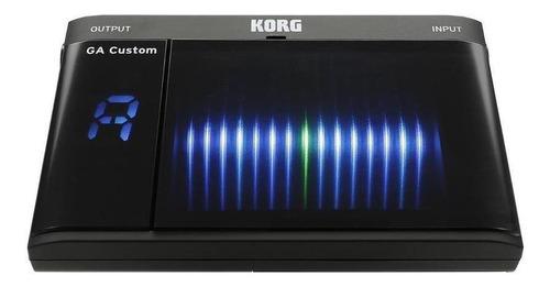 afinador digital korg ga custom plug pantalla