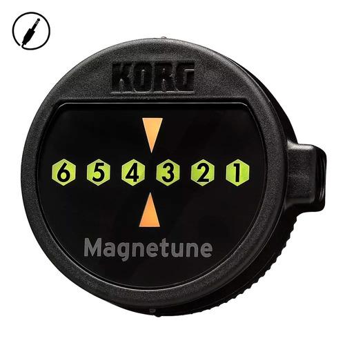 afinador digital korg guitarra y bajo mg1 magnetune + envio