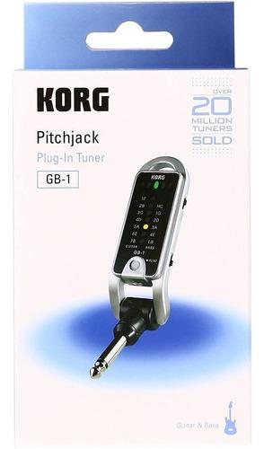 afinador digital korg pitchjack gb-1