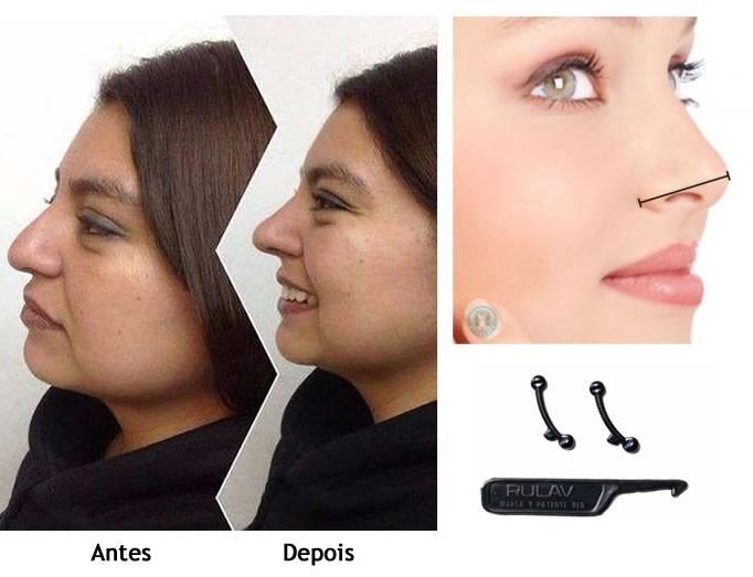 Resultado de imagem para Afinador Nasal Rinoplastia Natural Nose Up – No Brasil