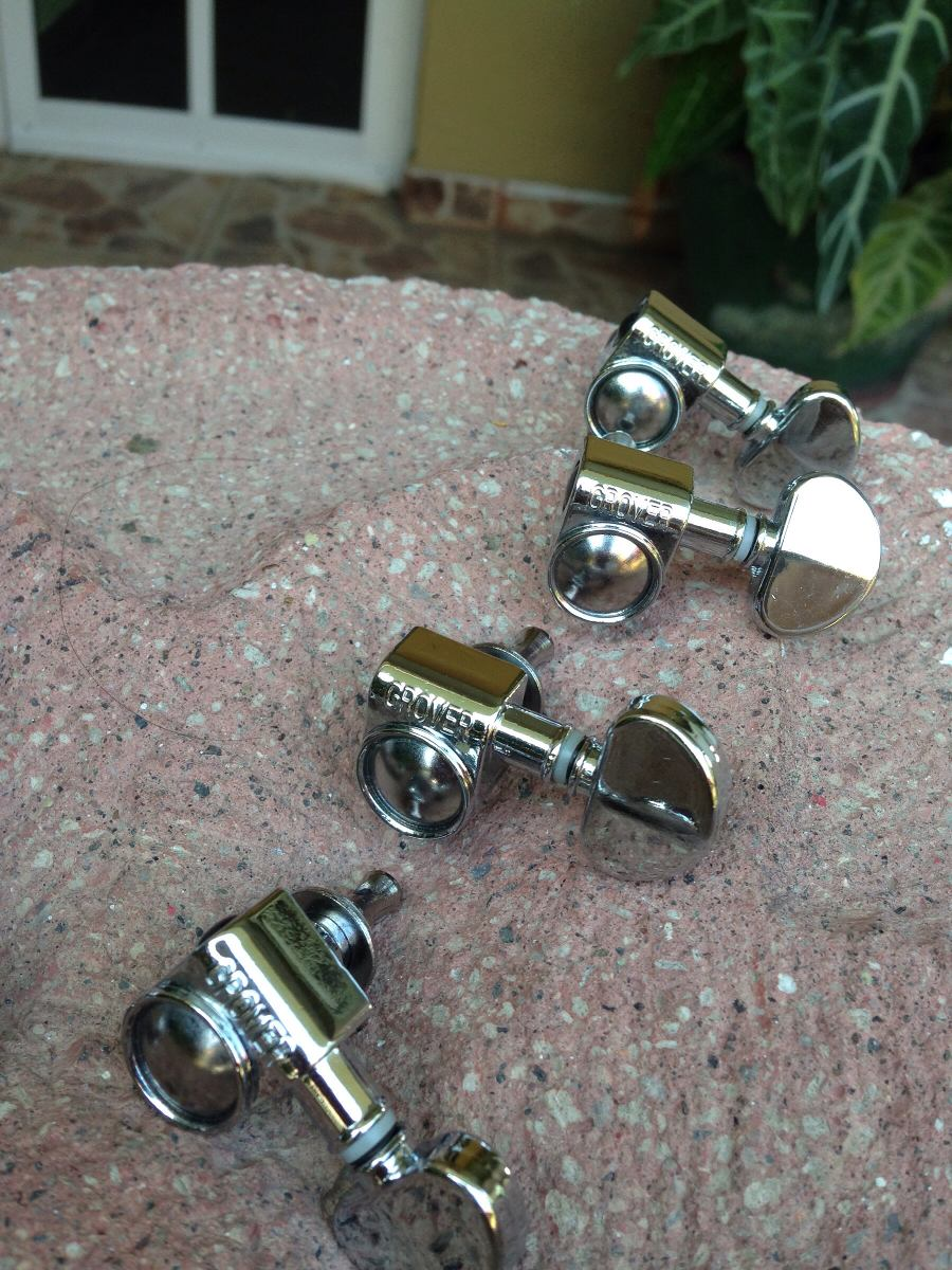 Afinadores Grover Individuales Para Gibson 3x3 Tuners Kluson