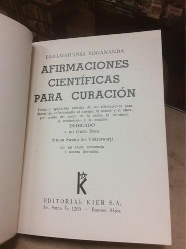 afirmaciones científicas para curación-paramahansa y.
