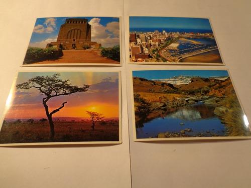 africa del sud- lote de 6 foto-postales-impecables- oferta