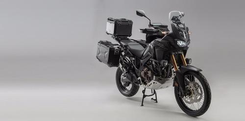 africa twin defensa sw motech honda moto
