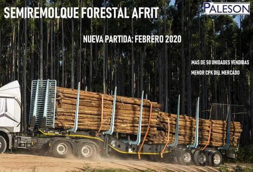 afrit semirremolque forestal