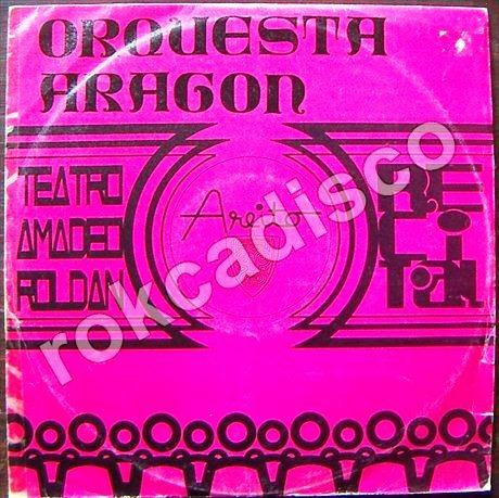 afroantillana, orquesta aragon, lp12´,teatro amadeo roldan