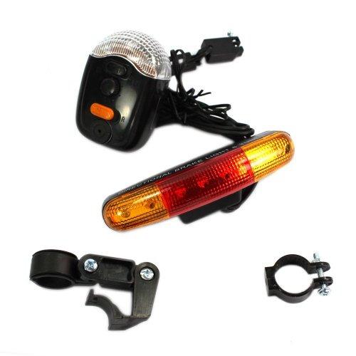afrom here  waterproof bicycle bike turn signal brake led